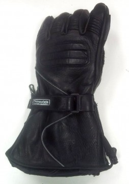 leather snowmobile glove