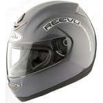Full face reevu msx1 helmet in Titanium colour