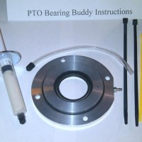 Ski doo Pto bearing buddy with injector