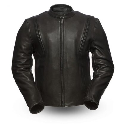 Mens Amoured Motorcycle leather Jacket
