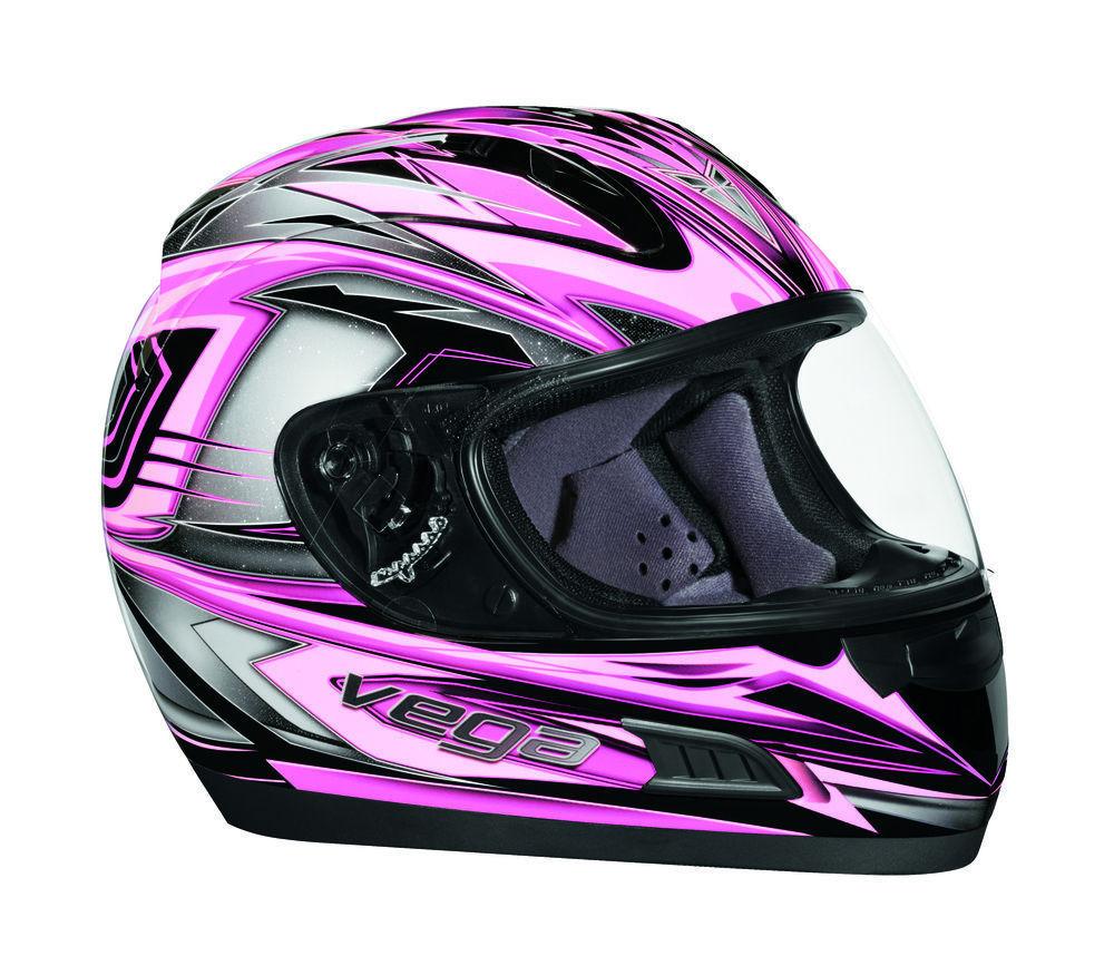 Motorcycle Helmet Pink