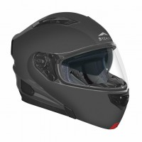 Modular snowmobile helmets with electric shield