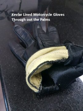 Kevlar Palm Motorcycle gloves