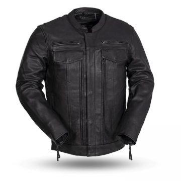 Raider leather Jacket