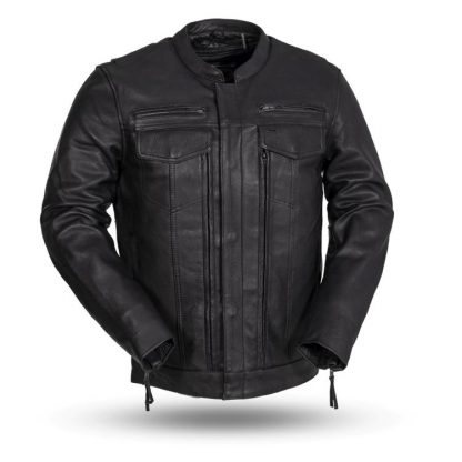 Raider leather Jacket