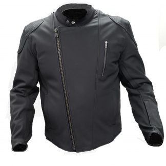 altimate leather Cafe jacket