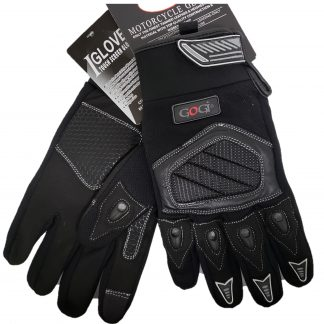 Dual sport Gloves Black