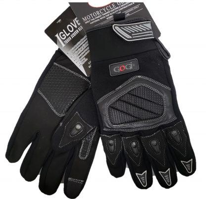 Dual sport Gloves Black