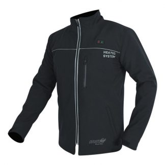 Mens heated motorcycle jacket