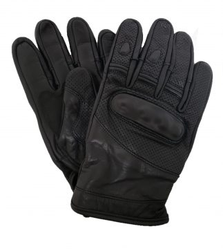 Turbine Perforated Leather Motorcycle Glove
