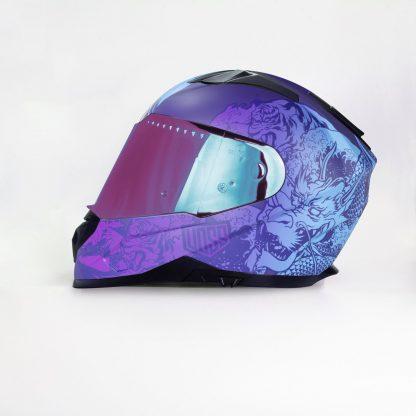 989 Voss Purple REIFullface Helmet