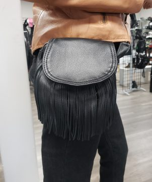 Altimate leather Fringe bag