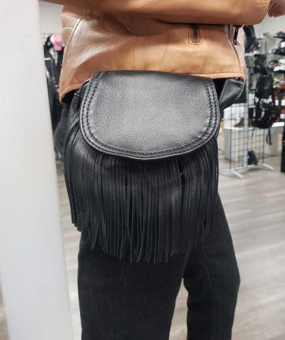 Altimate leather Fringe bag