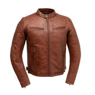 Zack leather Jacket