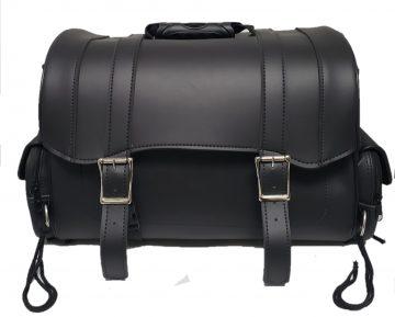 Motorcycle rear luggage bag