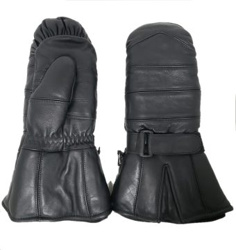 Leather Snowmobile mitts